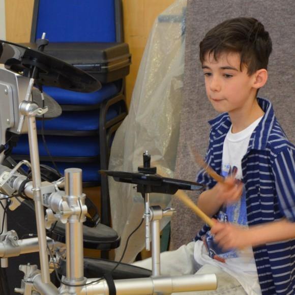 Callum & drums