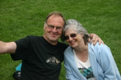 Joan and Brian