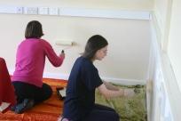 Margaret & Sophie Painting