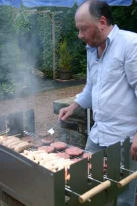 Joss BBQing ~ Durham