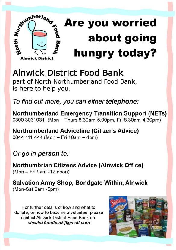 Food Bank Poster ~ 20-7-14